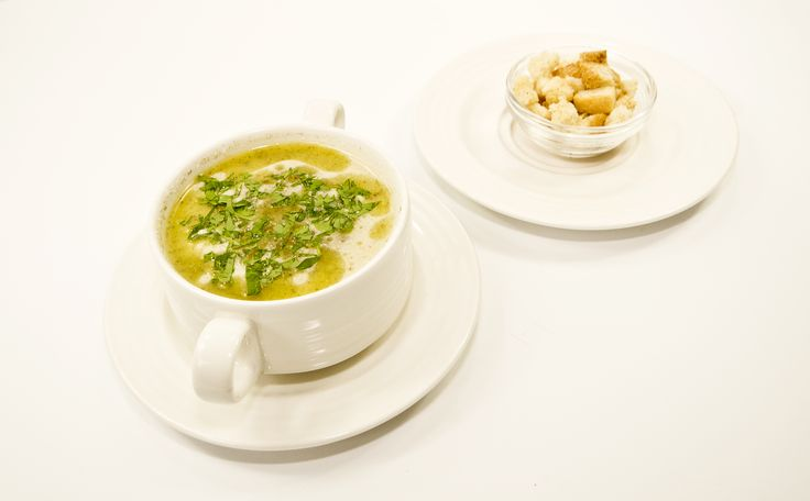 Garlic Soup with Croutons, Czech cuisine, May