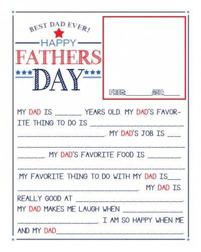 Irresistible image for father's day questionnaire printable