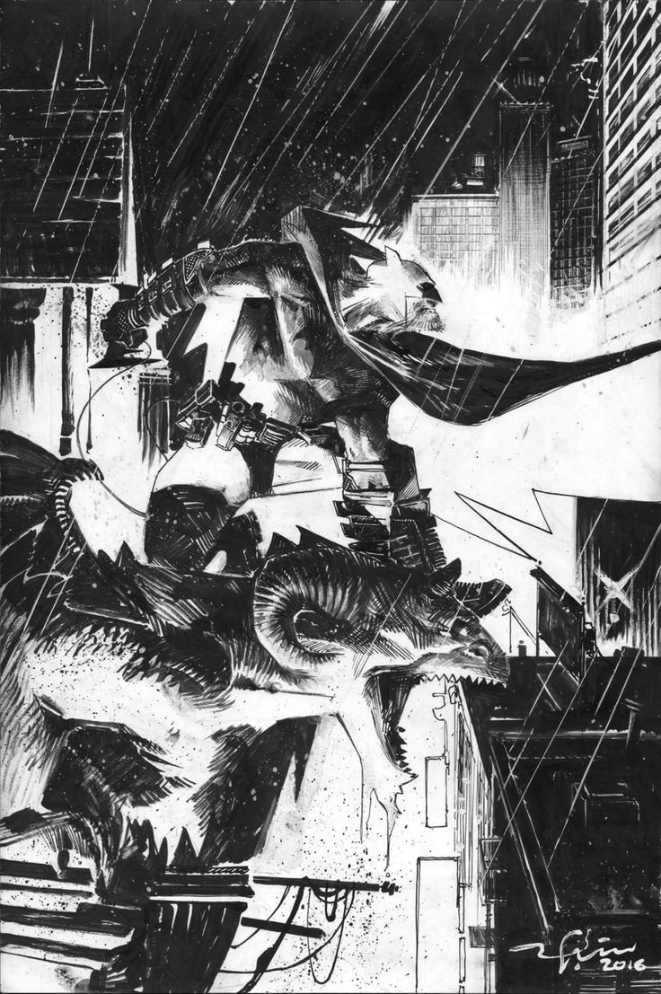 Batman by Gerardo Zaffino