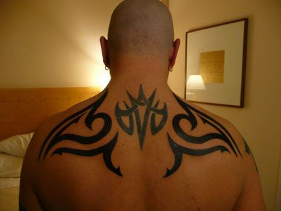 Tribal back tattoos provide years of enjoyment. Description from vogueblogs.blogspot.com. I searched for this on bing.com/images