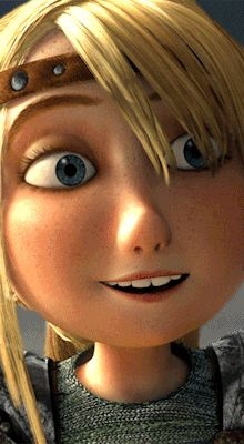 HTTYD younger and older Astrid