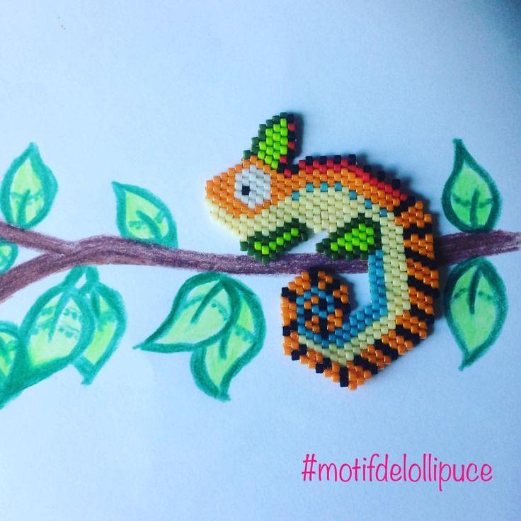 """1 mentions J'aime, 1 commentaires - Lollipuce (@lollipuce) sur Instagram : """"Deuxieme inspiration tropicale. Toujours dans les animaux bien colorés mais dans un esprit plus…"""""""