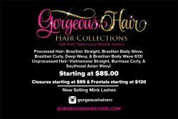 """HELLO HELLO PLEASE GO AND VISIT GorgeousHairStore.com!!! Launching New Hair Extension Online Store with Quality Virgin and Processed Hair!!! Don't Forget to go Purchase your Hair TODAY!!!! and also check out their Mink Lashes!! Did you know Vistaprint has 4"""" x 6"""" postcards - standard glossy front? Check mine out! Create anything from Business cards to birthday party invites at Vistaprint.com. Get incredible sales, 3-day shipping and more!"""