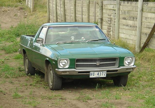 1971-74 Holden HQ Ute by HJ75, via Flickr