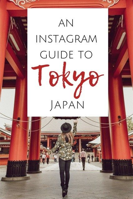 The most Instagramable places in Tokyo, Japan #Tok…