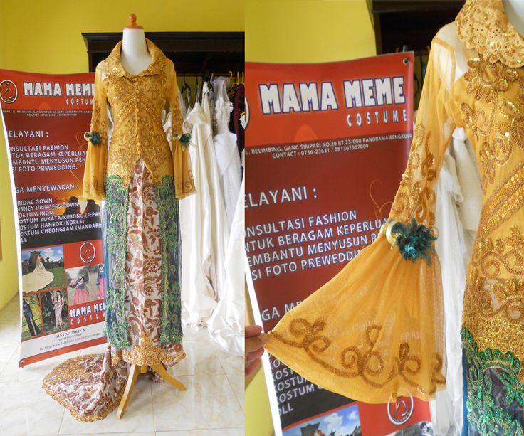 Kebaya Bunga Cemara by Mama Meme Costume
