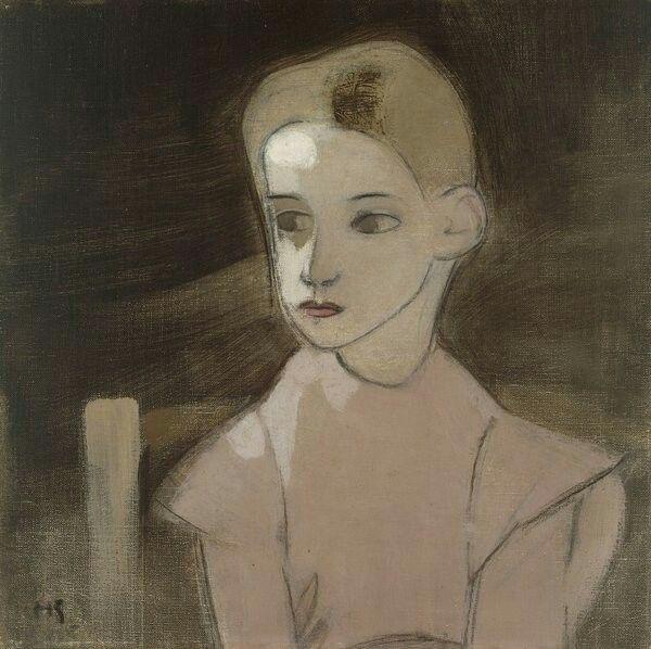 Helene Schjerfbeck -Margareta Vind