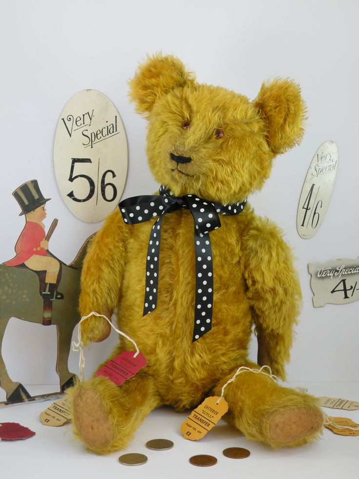 Selling old antique and vintage teddy bears
