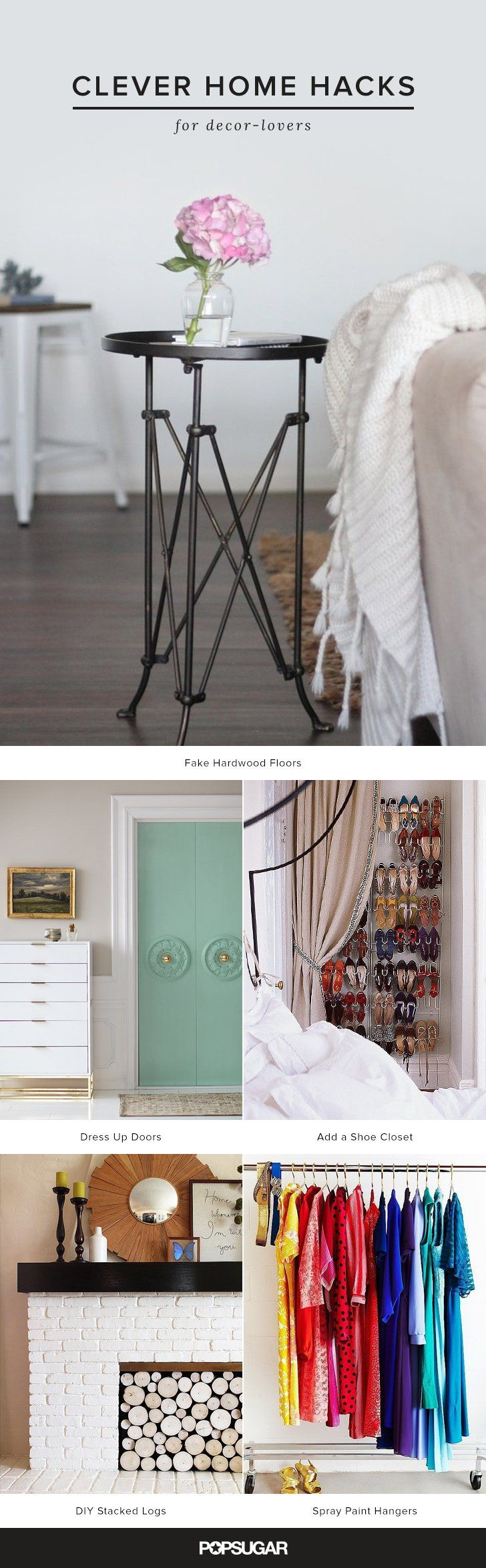30 Clever Home Hacks For Decor-Lovers