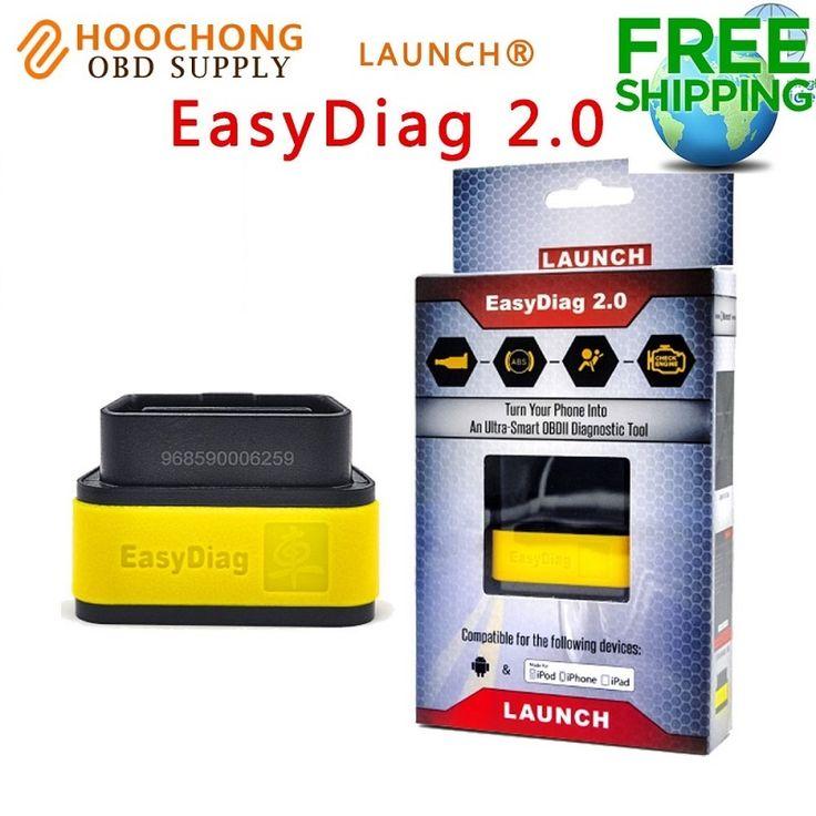 Alat diagnostik x431 launch x431 easydiag2.0 mudah diag 2.0 untuk android & ios 2in1 update online