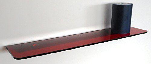 """Fimel - Mensola """"Hob in plexiglass 5 mm rosso misura L. 490 x P. 110 mm Fimel http://www.amazon.it/dp/B00SKYQIDG/ref=cm_sw_r_pi_dp_Pa5jvb18JZGGV"""