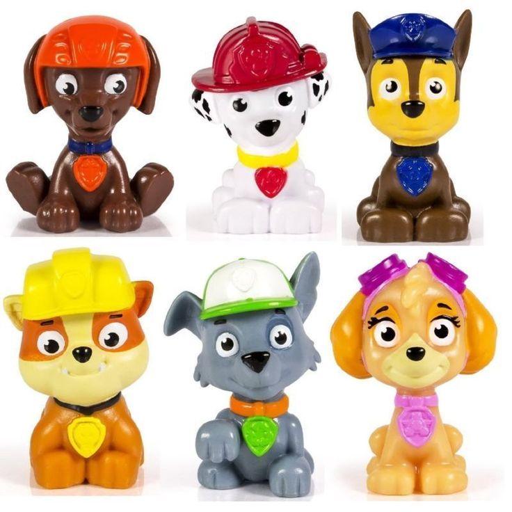 Paw Patrol Figure Set 6 Piece Puppies Dolls Kids Animal Toy Set Christmas Gift #Master #Custom