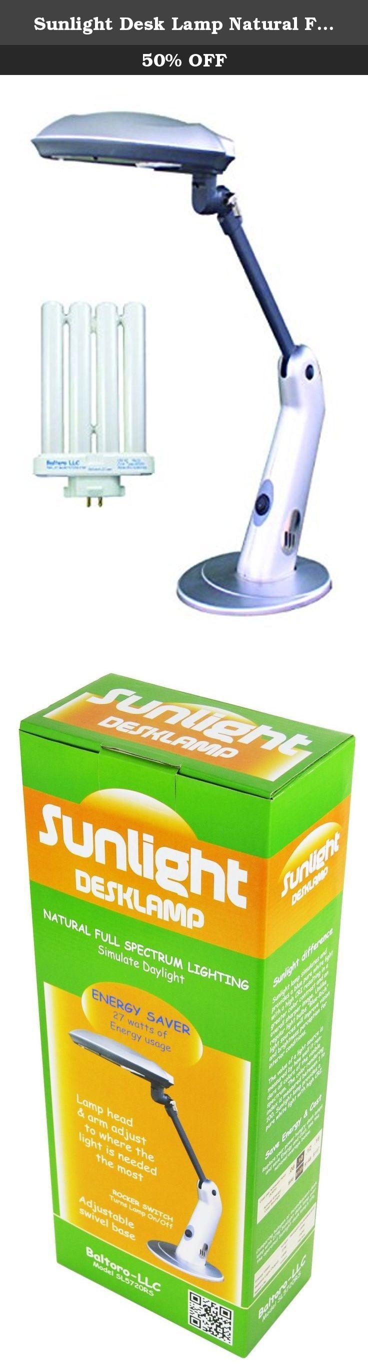 Sunlight Desk Lamp Natural Full Spectrum Sun Light ...