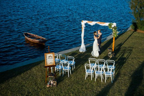 Lake House Wedding Inspiration