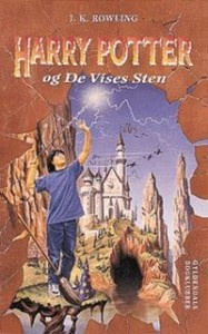 Harry Potter and the Philosopher's Stone cover from Denmark.