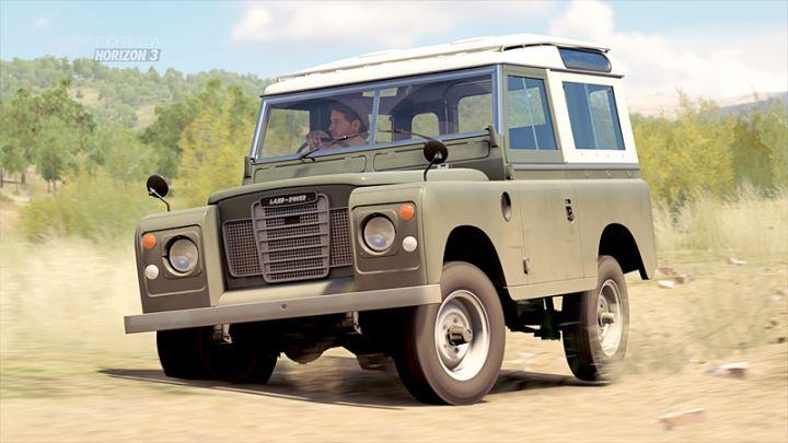 1972 Land-Rover 88'' Series III