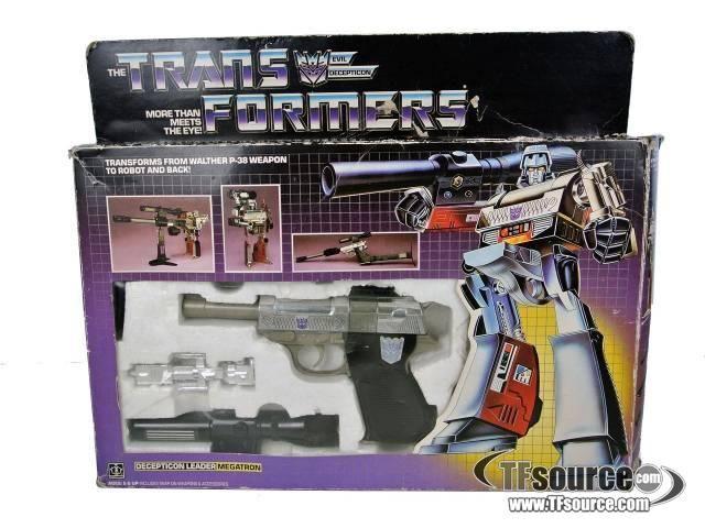 Transformers G1 - Megatron - MIB - Missing instructionsby Hasbro #transformer
