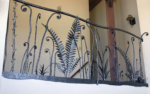 decorative railing or fence