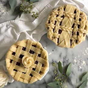 """522 Likes, 32 Comments - Carrie (@acarriedaffairdesigns) on Instagram: """"I baked these blackberry pies today while baby K was down for a nap. My oldest helped me (more like…"""""""