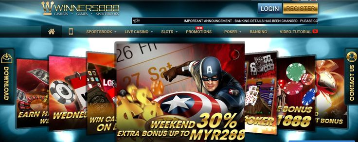 Play sports betting in Malaysia. Winners888 have all