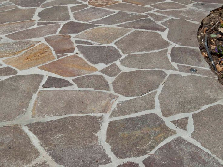 Eco Outdoor porphyry crazy paving.                                                                                                                                                      More