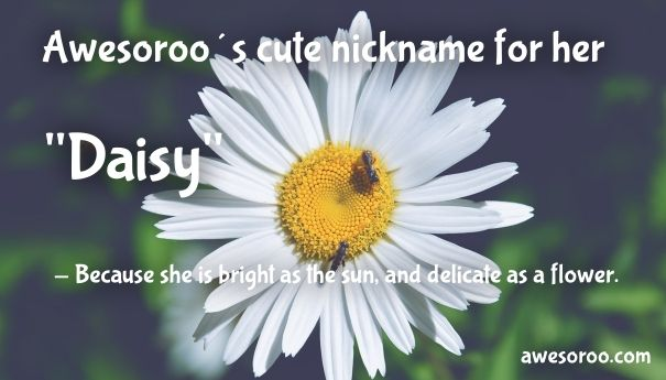 cute nickname for her daisy