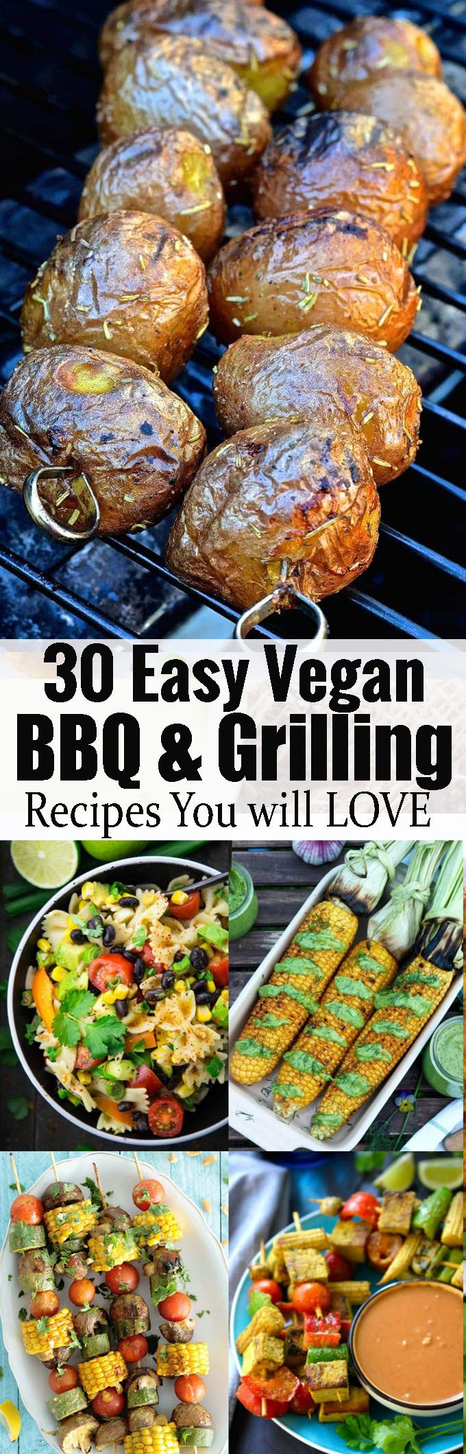 30 vegan BBQ and grilling recipes that will impress veggies and meat-eaters alike! As a vegan you definitely don't have to miss out on the BBQ season! <3 | veganheaven.org