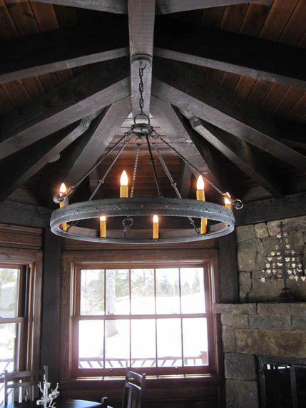 13 best lodge style lighting images on pinterest lodge look lodge custom wrought iron chandeliers chicken coop forge blacksmiths design rustic lighting aloadofball Image collections