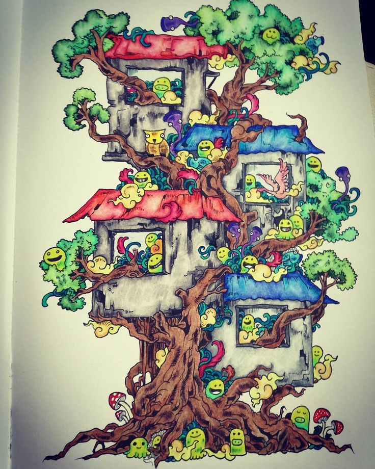 Doodle Invasion Zifflins Coloring Book Zifflin Kerby Rosanes By Sarah On