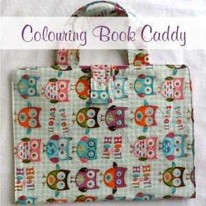 new colouring book caddy