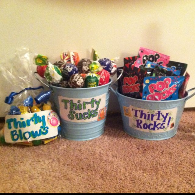 30th birthday gift craft ideas pinterest for 30th birthday decoration packages