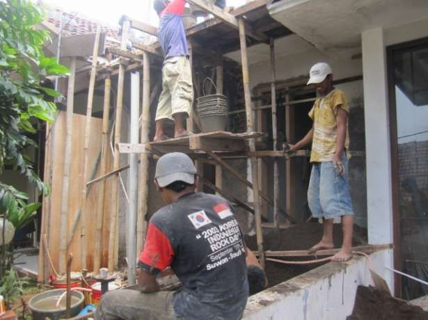 Kanopi Baja Ringan Di Cat Menerima Pekerjaan 1 Bangun Rumah Baru 2 Renovasi 3