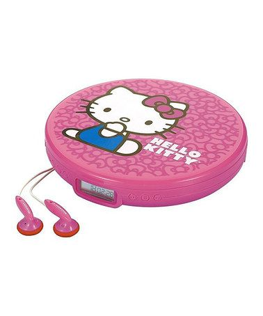 Look what I found on #zulily! Hello Kitty Personal CD Player #zulilyfinds