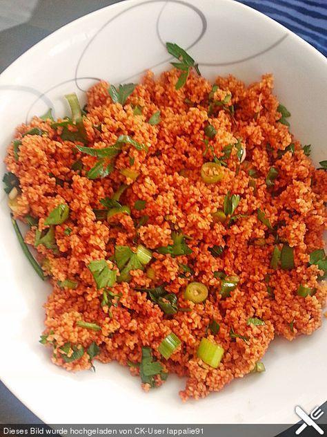 Die besten 25+ Türkischer couscous salat Ideen auf Pinterest - türkische küche rezepte