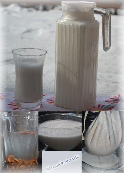 kierunek zdrowie: Mleko migdałowe