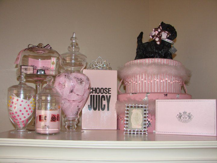 Juicy Couture Inspired Room