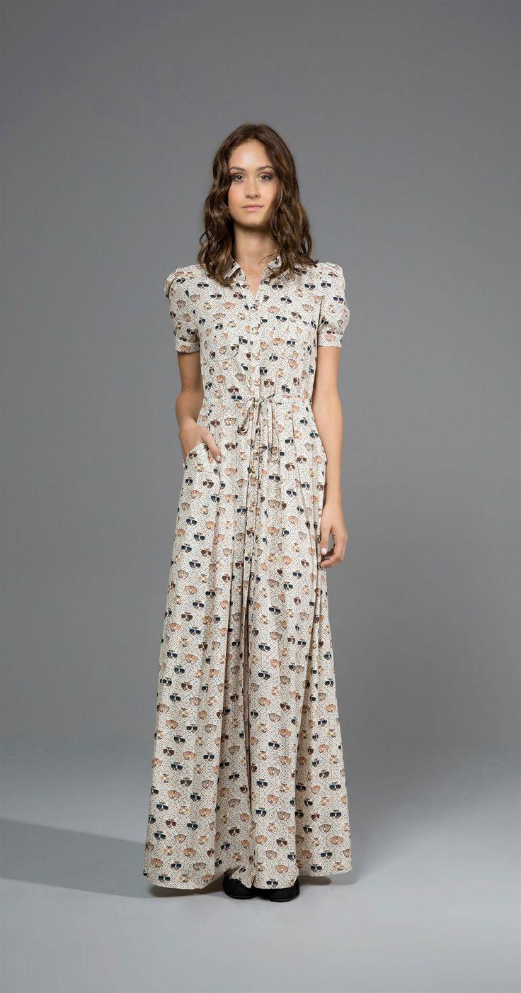 Vestido Longo Disfarce   Lookbook   Antix Store