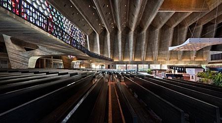 St Johns Abbey Church,  Minnesota,  Marcel Breuer,  1958