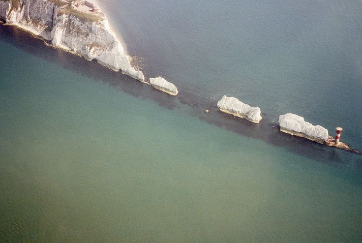 the Needles on the Isle of Wight, England.  | 29 Places You Won't Believe Are In The UK