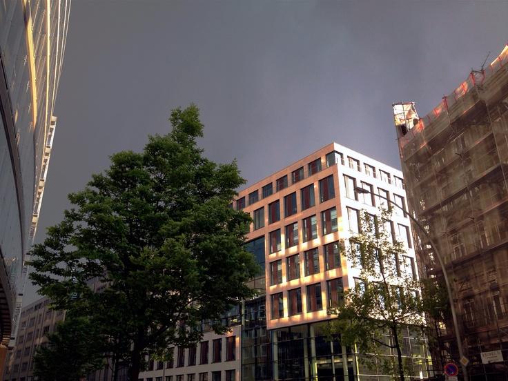 Rain Starting, Hope Staying Hamburg in May
