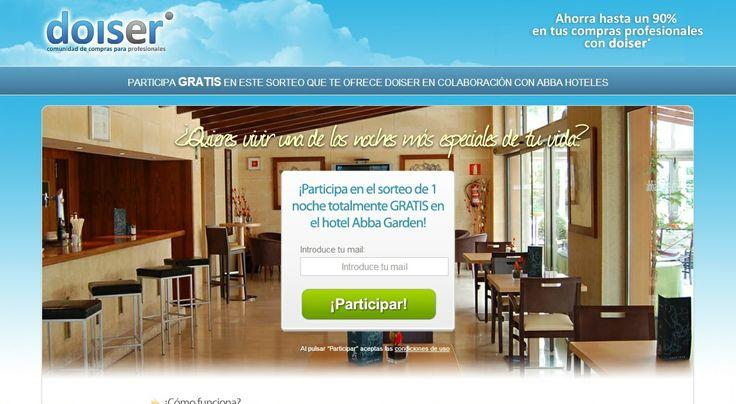 Sorteamos una noche gratis en el hotel Abba Garden de Barcelona (4 estrellas). ¿Te lo vas a perder?