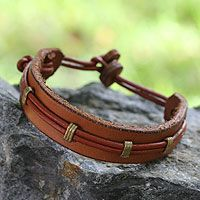 Sleek and chic, this bracelet exudes Ghanaian elegance.