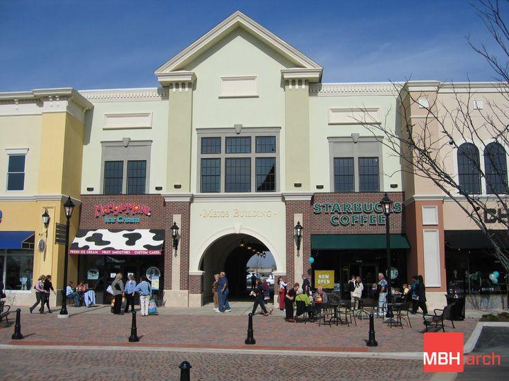 Best retail center architecture images on pinterest