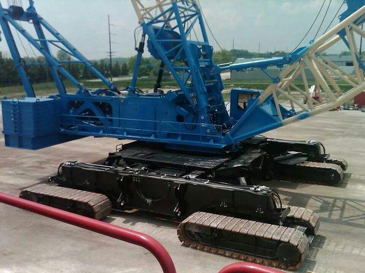 Lampson Manitowoc 21000 Crawler crane