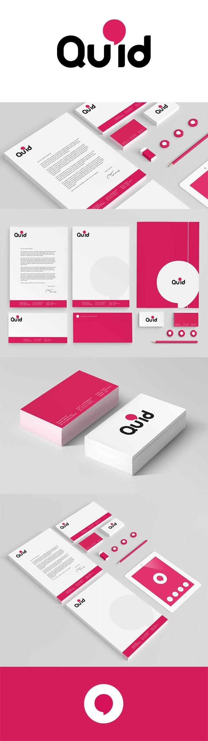 QU'ID #logo #identity #design #corporate #branding par Nicolas LEONARD #graphiste #graphistefreelance #illustrateur