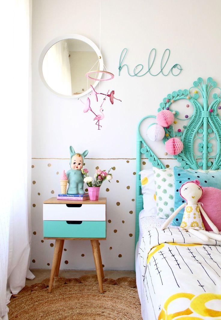 Girls bedroom Ideas   Kids Decor Spotlight - SUN and Co - more pics on the blog