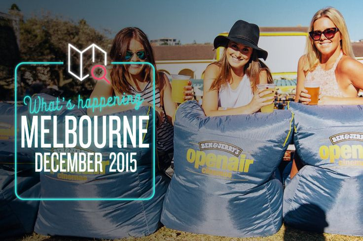 This December in Melbourne is all about film, art and getting your boogie on!