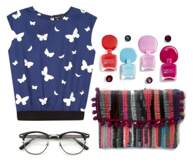 I see butterflies by maslindadesigns on Polyvore featuring polyvore mode style agnès b. fashion clothing