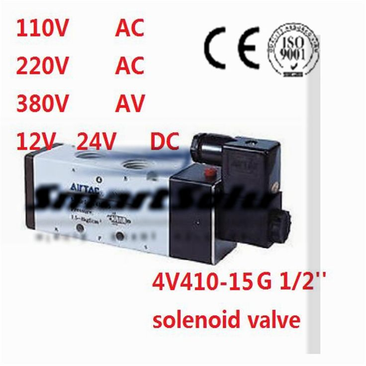 1130 best plumbing images on pinterest plumbing alibaba group free shipping single coil solenoid valve air 4v410 15 port 12 bsp sciox Choice Image