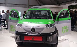 Africa Electric Car: Morocco Reveals the World's First Electric Pickup ...